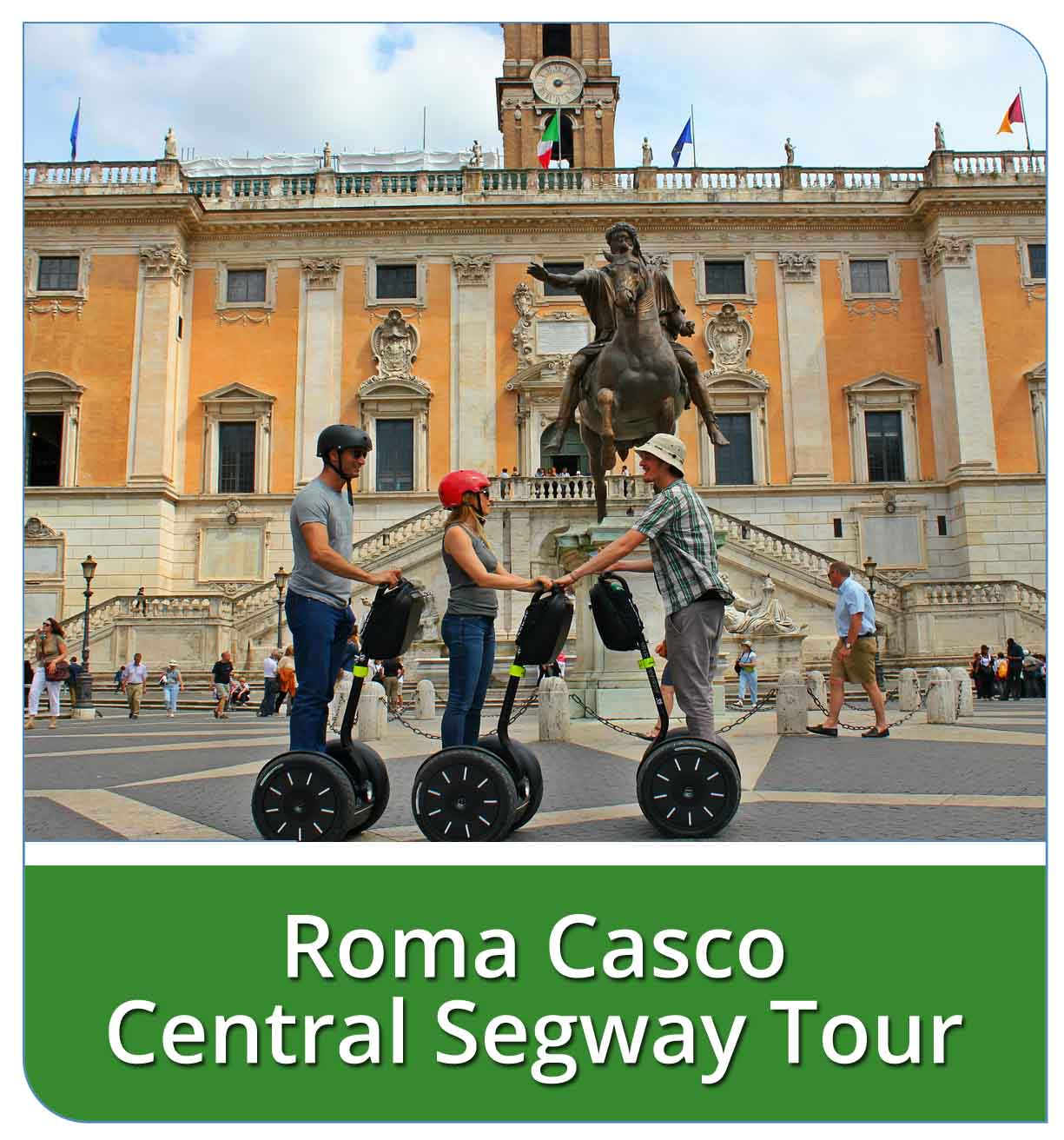 Roma Casco Central Segway Tour