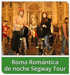Roma Romantica de noche Segway Tour