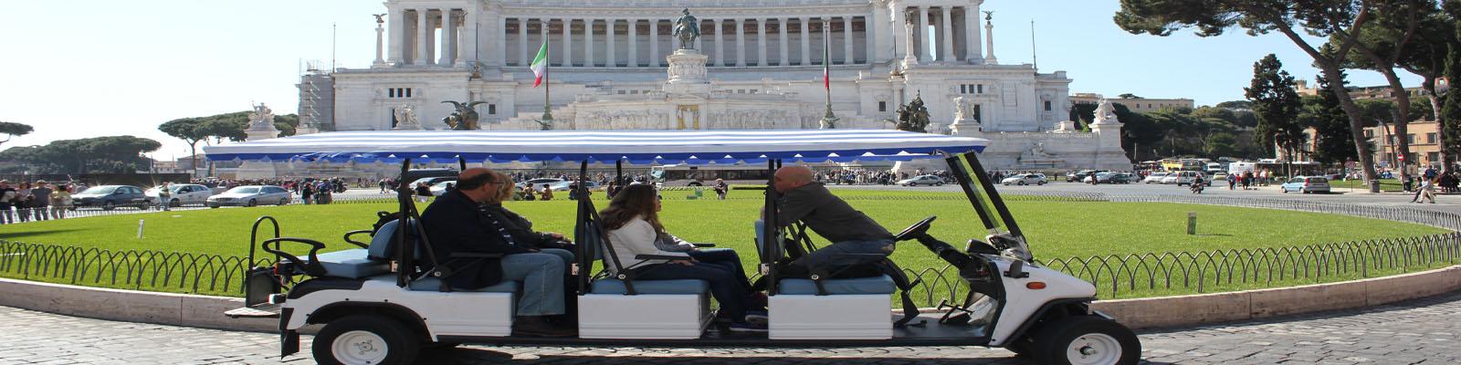 rome by golf-cart tour
