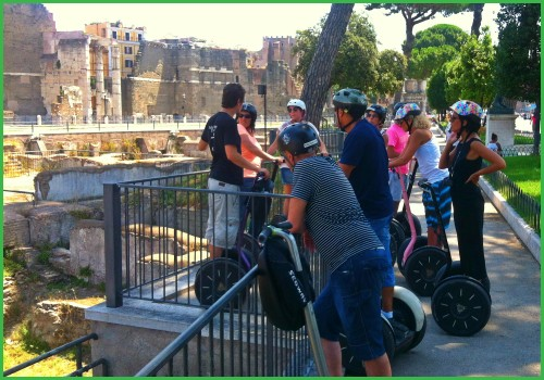Сегвей тур по Древнему Риму