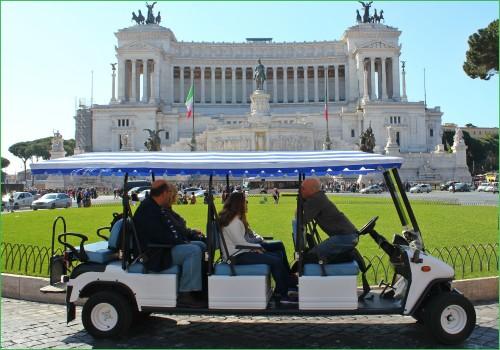Рим на Гольфмобиле