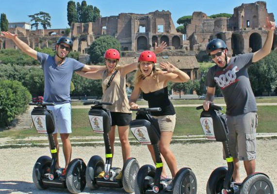 segway rome tour