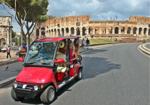 Rome Golf-Cart tour