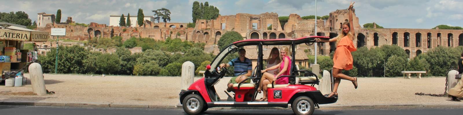 Golfwagen rom