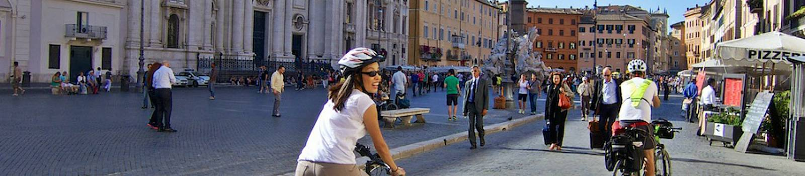 electric bicycle rental and tour rome