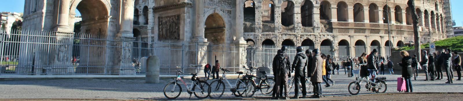 e bike tour rome