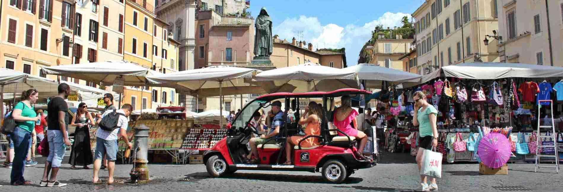 Rolling Rome golf cart tour