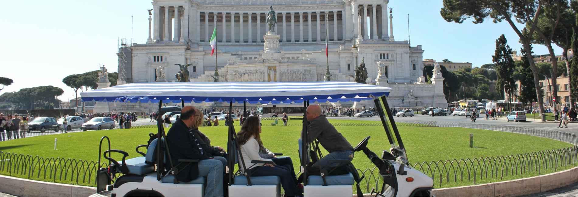 Rolling Rome golf cart tour