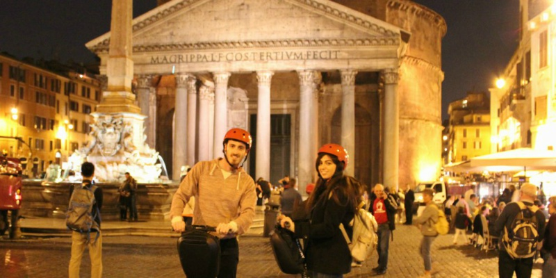 night segway rome